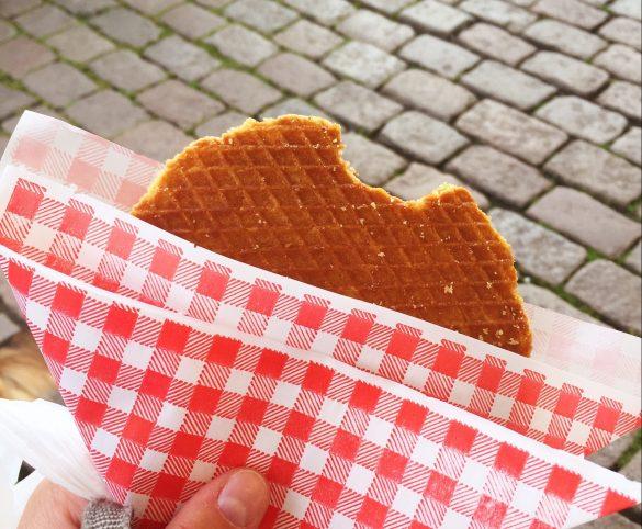 Stroopwaffeln als holländische Spezialität