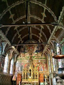 Deckenverzierung der Heilig-Blut-Basilika in Brügge