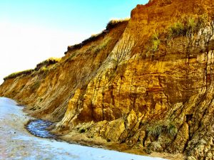 Kliffwand a, Roten Kliff auf SYlt
