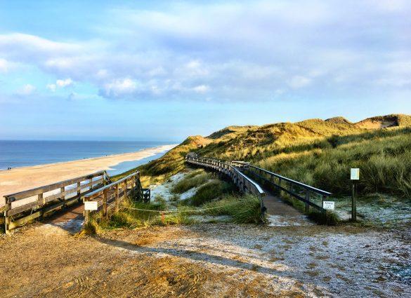 Dünenweg über das Rote Kliff auf Sylt