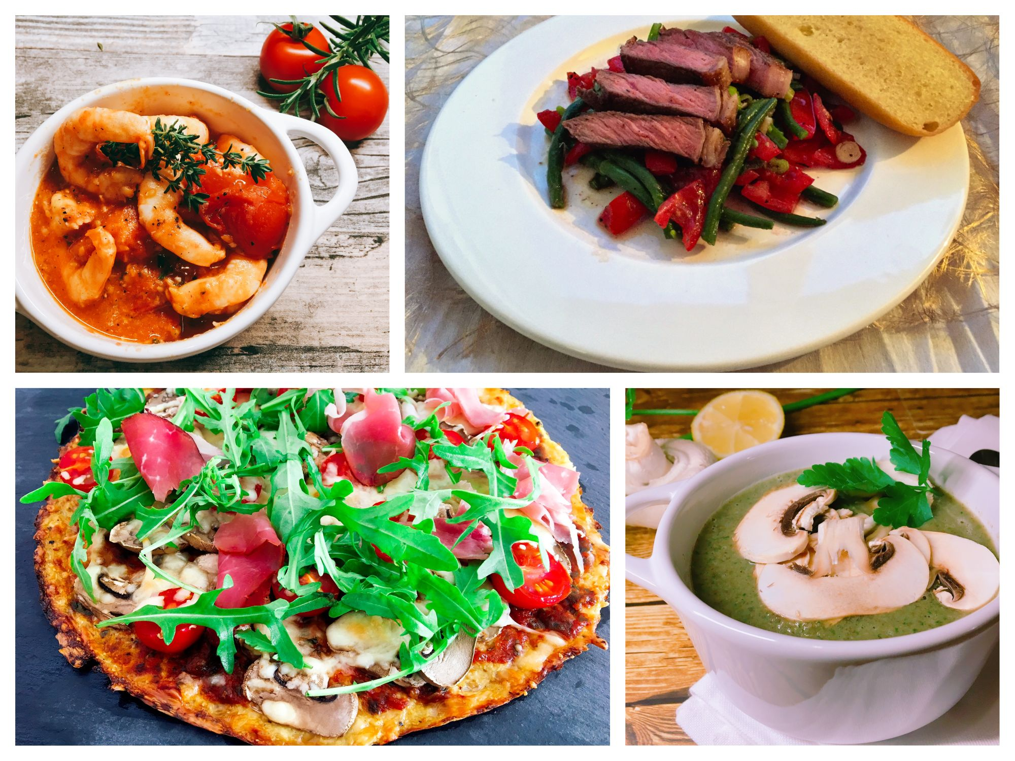 herzhafte Rezepte für Fleisch, Fisch, Suppen und Pasta
