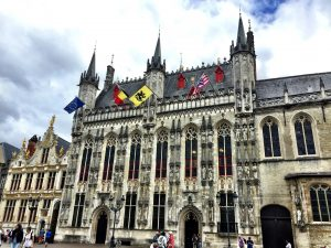 Rathaus in Brügge (Belgien)