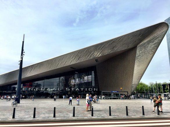 Hauptbahnhof in Rotterdam