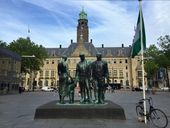 Rathaus in Rotterdam
