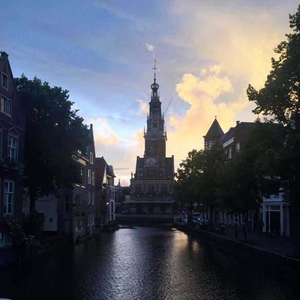 St. Laurens Kirche am Waagplein in Alkmaar