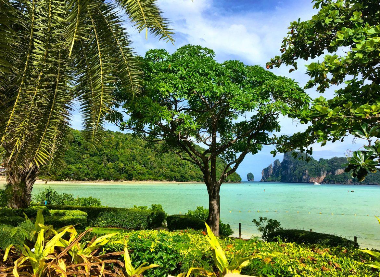 Bucht auf Koh Phi Phi in Thailnd