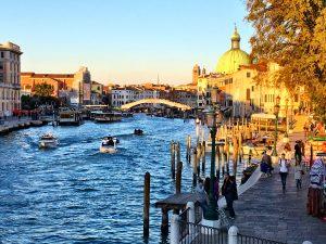 Piazza Roma in Venedig