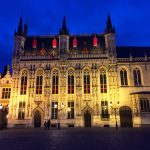 Rathaus Brügge in Belgien