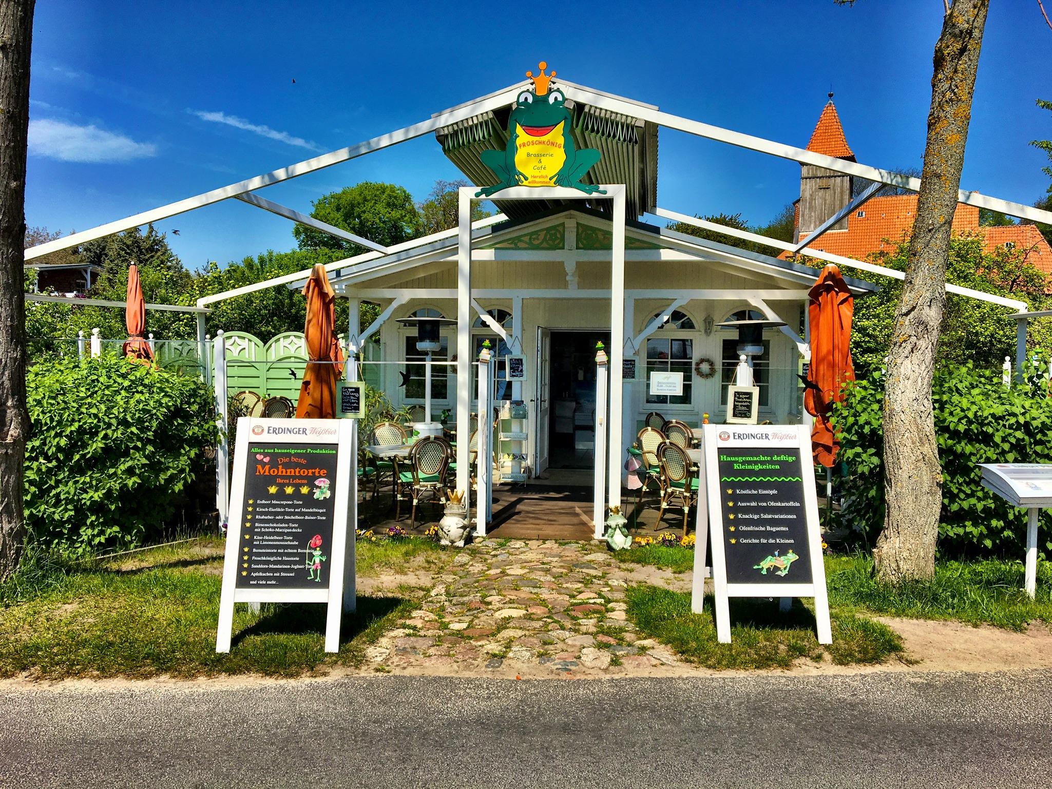 Cafe und Tortenhaus Froschkönig in Middelhagen