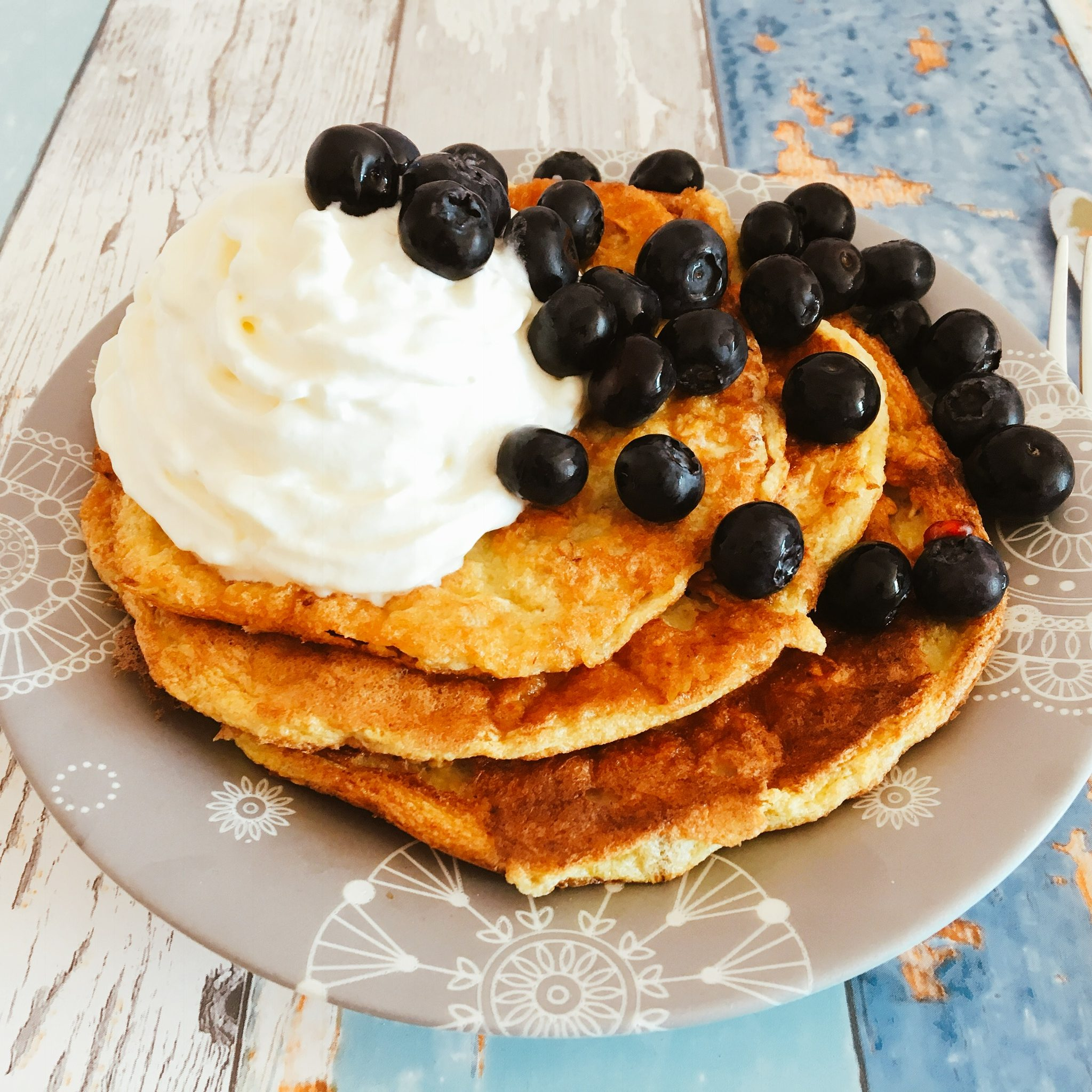 Low Carb Chia Bananen Pancakes Gourmaid