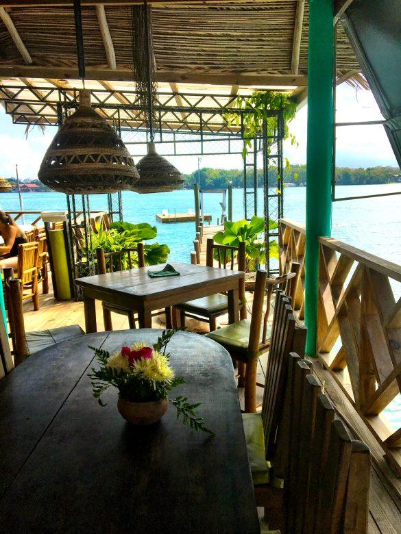 Restaurant Marina Tortugal am Rio Dulce