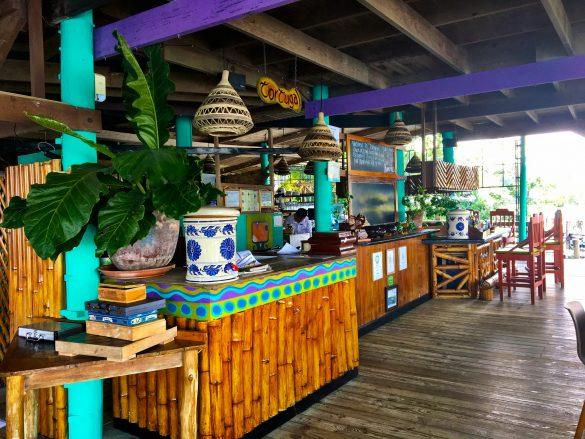 Rezeption im Tortugal am Rio Dulce