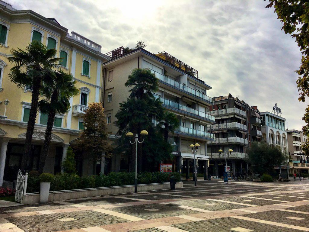 Fußgängerzoe in Abano Terme