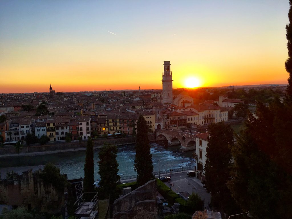 Blick über die Adige