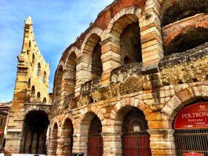 Deatil-Frontansicht Arena di Verona
