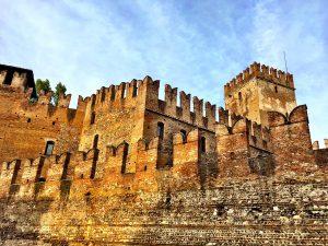 Die Mauern des Castelvecchio