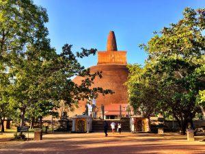 Abhayagiri Tempel in Sri Lanka