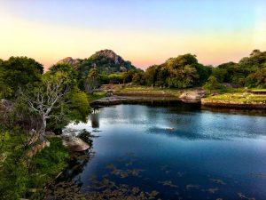 Stausee in Anuradhapura