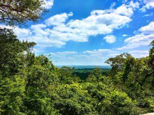 Ausblick über Anuradhapura
