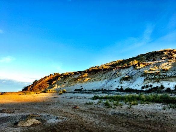 Das Morsumer Kliff auf Sylt von der Strandseite