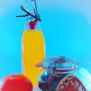 Orangen-Vanille-Sirup mit Kardamom