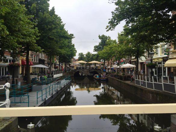 Kanalblick in Akmaar