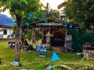 Shop auf Koh Lanta in Thailand