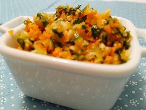 Eingesalzenes Gemüse für Gemüsebrühe