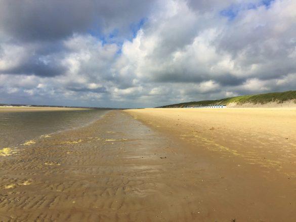 30 km feinster Sandstrand auf Texel in Holland