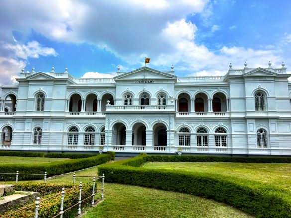 Sri Lankas Nationalmuseum in Colombo