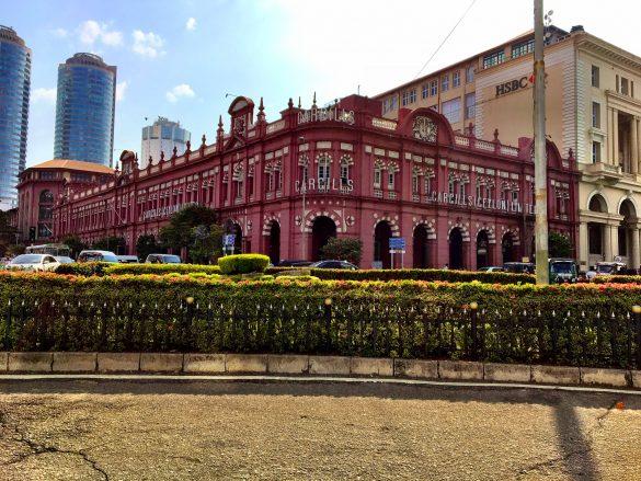 Cargill's Kaufhaus im Fort-Viertel in Colombo
