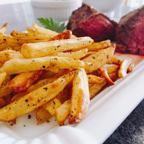Steak Frites aus der Actifry