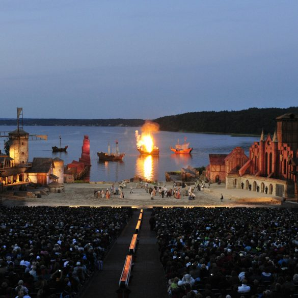 Freilichtbühne Störtebeker Festspiele auf Rügen