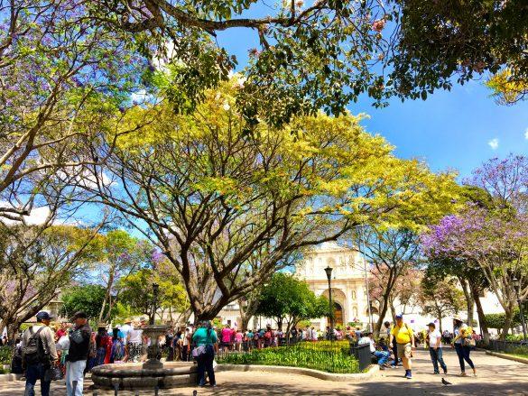 Central Park in Antugua, Guatemala
