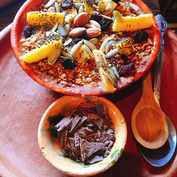 Acai Bowl im Cafe Boheme in Antiga