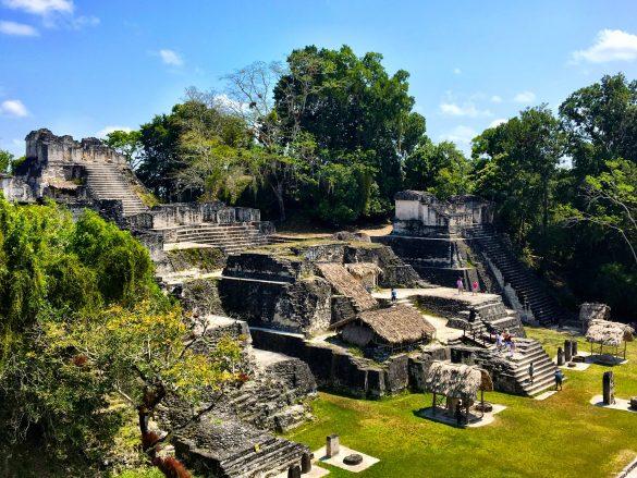 Maya Ruinen in Tikhal