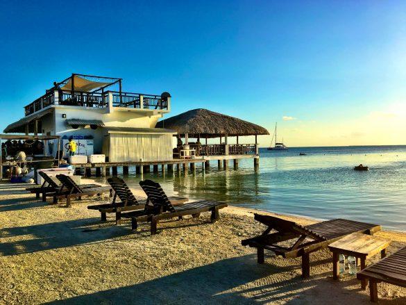 Koko King Strand auf Caye Caulker