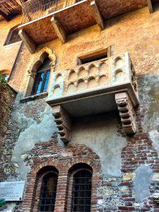 Shakespeare Julia's Balkon