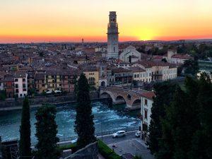 Verona Sonnenuntergang