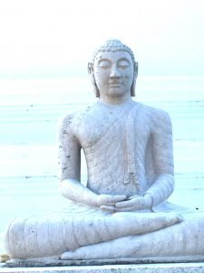 Buddha Statue in Anuradhapura