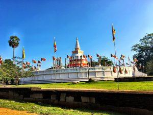 Gesamtansicht Stupa Thuparama
