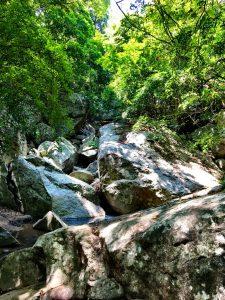 Flussbett in Rigitala