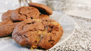 Caramel Fudge Brownie Cookie