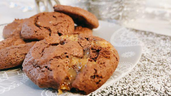 Caramel Fudge Brownie Cookie