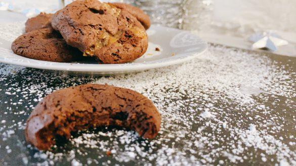 Zartschmelzender Brownie Cookie
