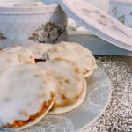 Elisen-Lebkuchen mit Glasur